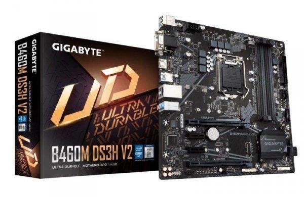 Płyta Gigabyte B460M DS3H V2/B460/4xDDR4/SATA3/M.2/USB3.1/PCIe3.0/s.1200/mATX