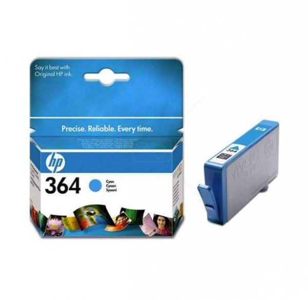 Tusz HP 364 cyan Vivera| 3ml | PS C5380/C6380/D5460/B8850
