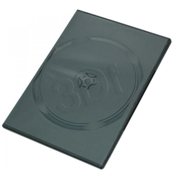 PUDEŁKO NA DVD BLACK 1 DISC 7mm SLIM