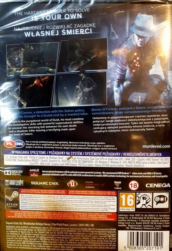 Gra Murdered: Soul Suspect – Śledztwo zza grobu PC