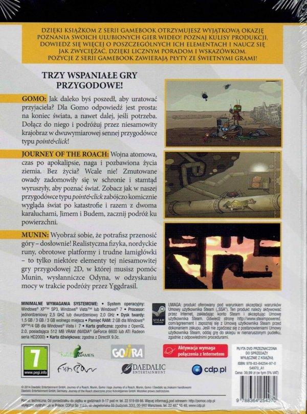 Gamebook Daedalic Adventure Collection.tył