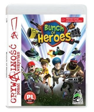 BUNCH OF HEROES PC DVD