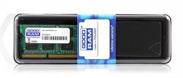 Pamięć DDR3 SODIMM 8GB PC3-12800 1600Mhz 1,35V Low Voltage GOODRAM