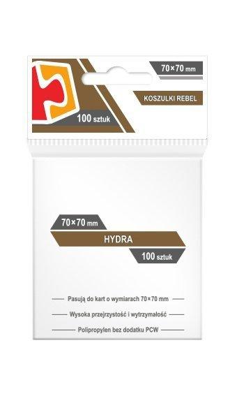 "Koszulki Rebel (70x70 mm) ""Hydra"" 100 sztuk"