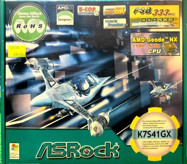 Płyta ASROCK K7S41GX Socket A