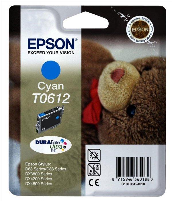 Epson T0612 CYAN       DURABRITE