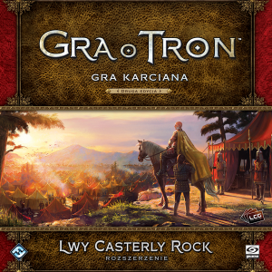 GRA O TRON: GRA KARCIANA 2 ED. LWY CASTERLY ROCK PL