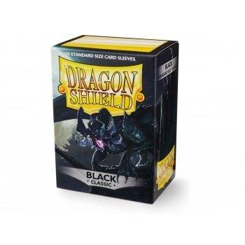 Koszulki Dragon Shield Standard Sleeves - Black (100 Sleeves)