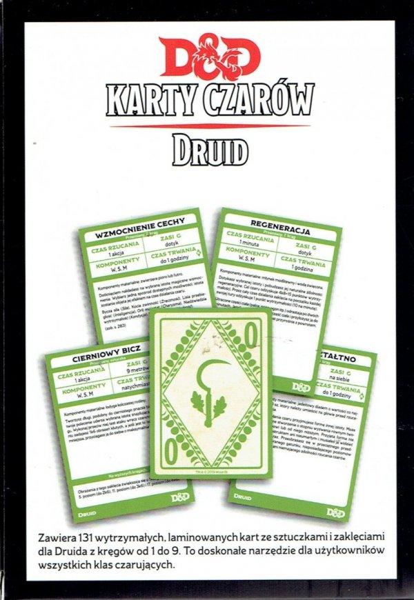 Dungeons & Dragons: Karty czarów - Druid 5.0 PL