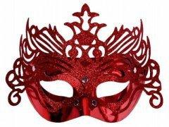 Maska karnawałowa wenecka brokat