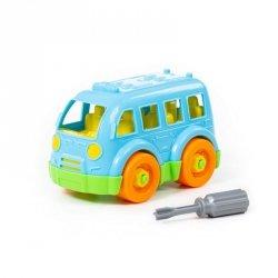 Klocki Mały autobus + śrubokręt 15el. 78995
