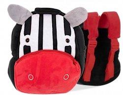 Plecak przedszkolaka pluszowy zebra 24cm