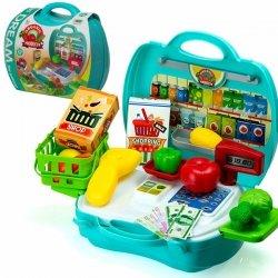 Zestaw sklep z warzywamii - Walizka autobus 23el