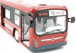 Autobus Zdalnie Sterowany RC z otwieranymi drzwiam