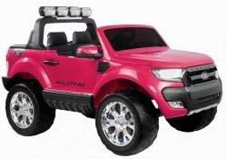 Auto na akumulator Ford Ranger Różowy lakier 4x4