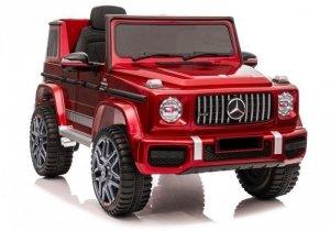 Auto na akumulator Mercedes G63 BBH-0002 Czerwony Lakier