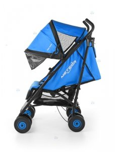 Spacerówka Parasolka Milly-Mally METEOR niebieska - wygoda i funkcjonalność