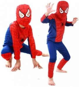 KOSTIUM SPIDERMAN 4 LATEK