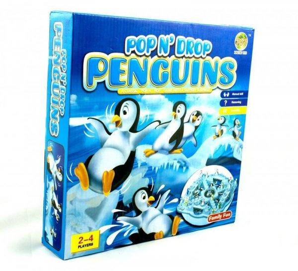 Gra planszowa wyścigi pingwinów chińczyk