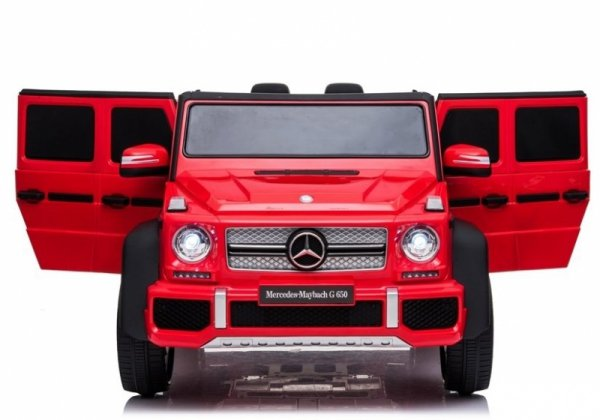Auto na akumulator Mercedes A100 Czerwony Lakier