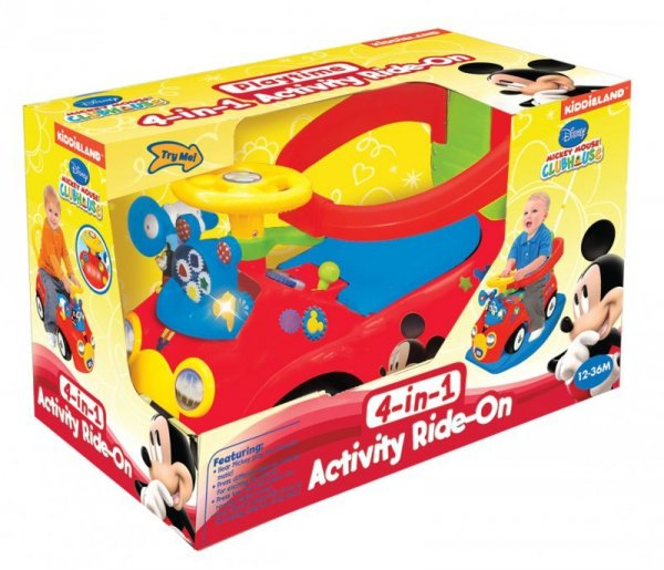 KIDDIELAND MICKEY MOUSE 4IN1 046581 JEŹDZIK DISNEY