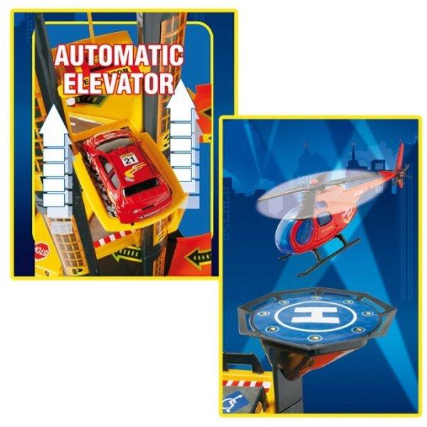 PARKING GARAŻ 4 poziomy + helikopter - idealne miejsce, by zaparkować pojazdy!