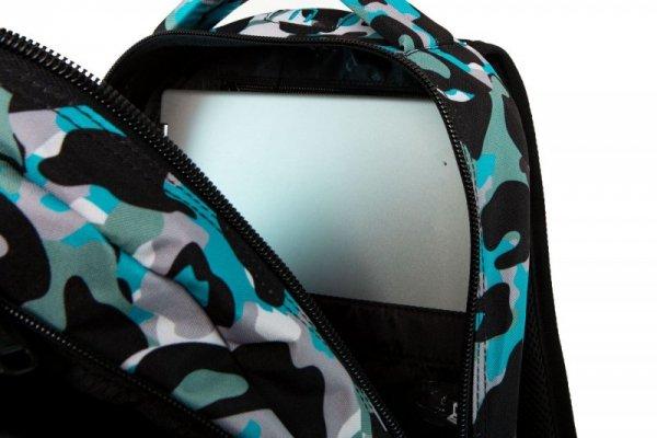 COOLPACK CP PLECAK CAMO BLUE BADGES DART XL