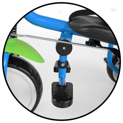 Rowerek trójkołowy BOBY fioletowy - wygoda i bezpieczeństwo