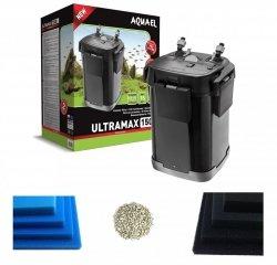 Aquael Ultramax 1500 filtr zewnętrzny do 450l + GRATIS