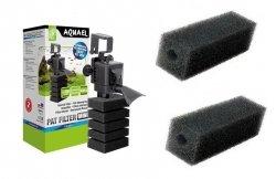 Aquael Filtr Pat Mini 400L/h + 3xGąbka