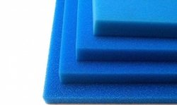 Wkład Filtracyjny Gąbka 35X30X1 20PPI Niebieska