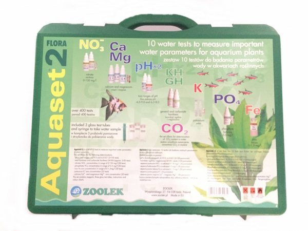 Zoolek Aquaset 2 10W1 Test No3 Gh-Kh Ph Po4 Fe K Ca Hit!