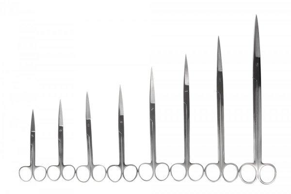 Nożyczki Akwarystyczne Proste 16,5 Cm Precyzyjne Jakość