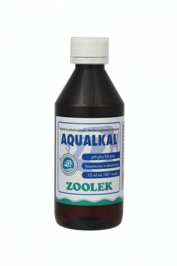 Zoolek Aqualkal Podnosi Ph Wody I Twardość Węglanową 250Ml