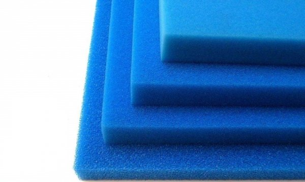 Wkład Filtracyjny Gąbka 50X50X10 30PPI Niebieska