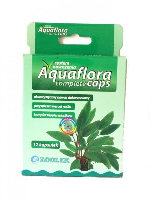 Zoolek Aquaflora Complete Caps Nawóz Kapsułki 12Szt