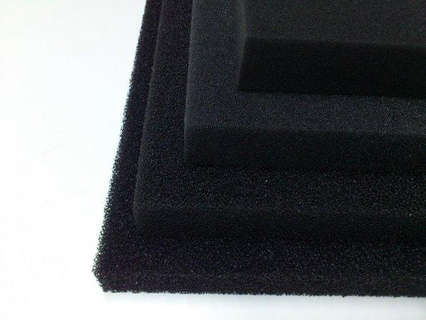 Wkład Filtracyjny Gąbka 20X20X3 30PPI Czarna