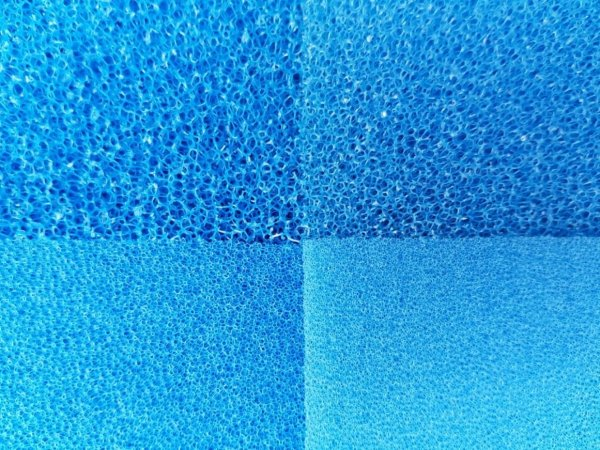 Wkład Filtracyjny Gąbka 25X25X1 10PPI Niebieska