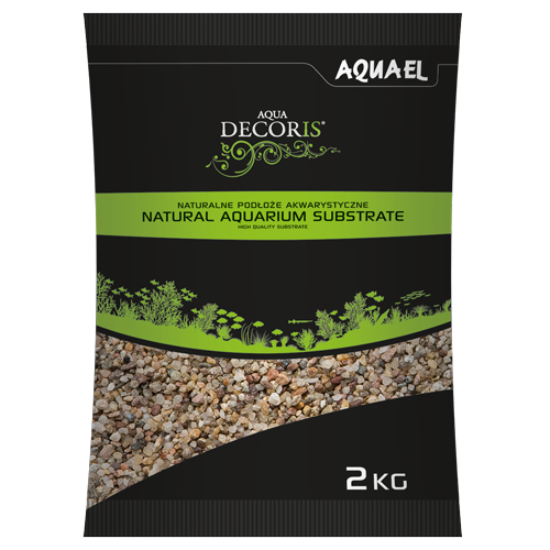 Aquael Żwir Naturalny Wielobarwny 1,4-2 mm 10 kg