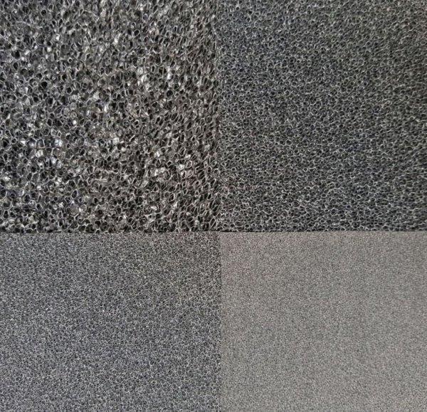Wkład Filtracyjny Gąbka 25X25X1 45Ppi CZARNA