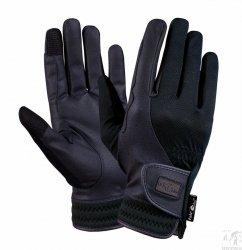 Rękawiczki FP ZEPHIRO czarne,dziecięce