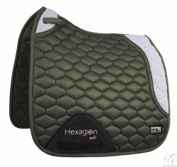 Czaprak Fair Play Hexagon AIR MESH 3D DRE olive-grey