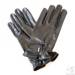 Rękawiczki skóra licowa KENIG Champion, czarne r. 8