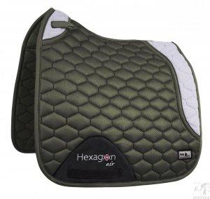Czaprak Fair Play Hexagon AIR MESH 3D DRE olive-grey