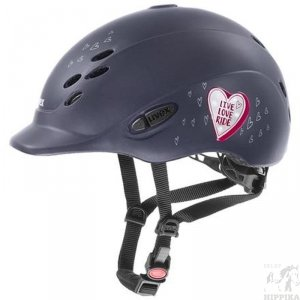Kask Uvex Onyxx glamour black pink mat 49-54