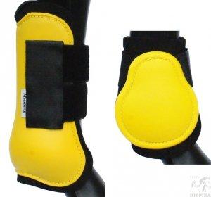 Ochraniacze twarde anatomiczne żółte