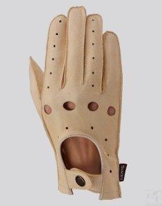 Rękawiczki Kenig skórzane samochodowe Cabrio r. 7