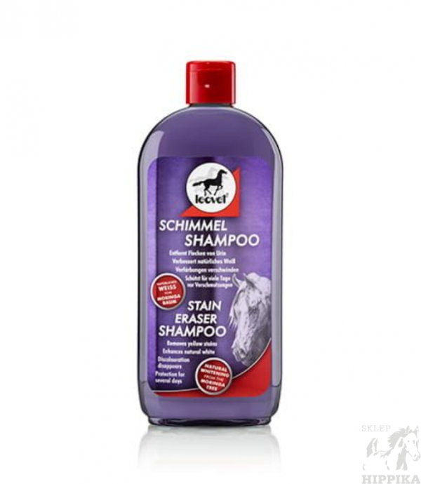 Szampon dla siwych koni LEOVET MILTON WHITE SHAMPOO