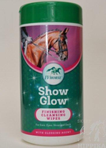 IV HORSE chusteczki nabłyszczająco-myjące