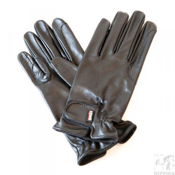 Rękawiczki skóra licowa KENIG Champion, czarne